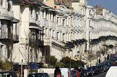Georgian Housing.Brighton.England