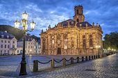 Ludwigskirche -  a Protestant baroque style church in Saarbrucken, Germany
