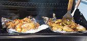 Tandoori Chicken Cooking