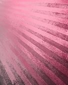 abstract sunburst background with messy pink and black grunge paint design