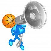 Basketball Megaphone