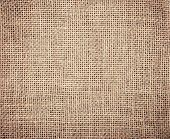 Burlap Textile Background