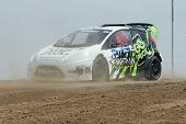 Austin Cindric Rally Driver At The Red Bull Grc Global Ralleycross