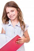 Girl Grabbing Book
