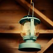 Blue Vintage Lantern