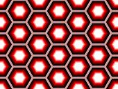 Design Seamless Colorful Hexagon Geometric Pattern