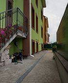foto of luka  - Courtyard of a residential building of new buildings in the village of Luka Meleshkovskaya in Vinnitsa Ukraine - JPG