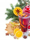 glass of christmas mulled wine