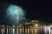 Fireworks in Peñíscola