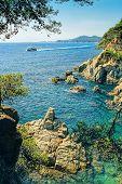 Beautiful Landscape At Lloret De Mar