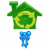 Family With Green Home