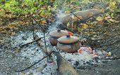Roast in a clay pot