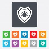 image of shield-bug  - Shield sign icon - JPG
