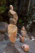 Artistic cairns