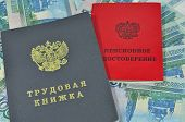 Work-book And Pension Certificate