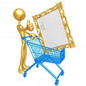 Art Shopping Cart