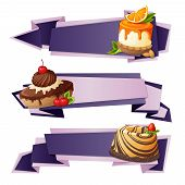 Sweets paper banners