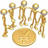 Blind To Yen Coin
