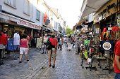 Pedestrian Shopping Aigues-mortes
