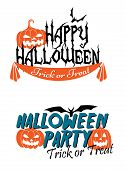 Happy Halloween themed graphics