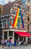 Festive Decorated Amsterdam