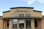 Jcpenney Sign On A Store Front