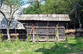 stock photo of sibiu  - sibiu city romania ethnic museum rustic granary - JPG