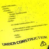 Website Under Construction Design Template