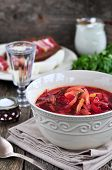 picture of vegetable soup  - Dinner - JPG