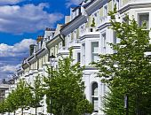 Luxus-Apartmentgebäuden in Notting hill
