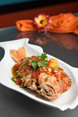 Thai Tamarind Red Snapper