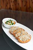 Thai Shrimp Sesame Toasts