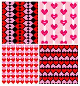 Wrappers with hearts pattern