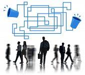 Communication Connection Telecommunication Telephone Transmit Concept