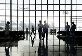 Business Travel Airport Terminal Trip Commuter Concept