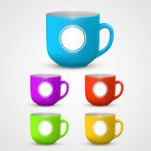 Mug set colors