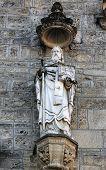 MARIJA BISTRICA, CROATIA - OCTOBER 26: Statue of saint, basilica Assumption of the Virgin Mary in Marija Bistrica, Croatia, on October 26, 2013