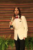 WEST HOLLYWOOD - MAR 2:: Jared Leto at the 2014 Vanity Fair Oscar Party on March 2, 2014 in West Hollywood, California