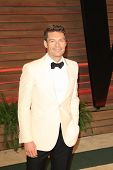 WEST HOLLYWOOD - MAR 2:: Ryan Seacrest at the 2014 Vanity Fair Oscar Party on March 2, 2014 in West Hollywood, California
