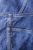 Closeup background texture of denim fabric.