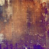 Vintage antique textured background. With different color patterns: yellow (beige); brown; gray; purple (violet); red (orange)