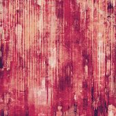 Textured old pattern as background. With different color patterns: yellow (beige); brown; purple (violet); pink