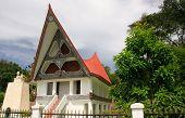 Traditional Batak House On Samosir Island, Sumatra, Indonesia