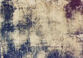 Abstract old background with rough grunge texture. With different color patterns: yellow (beige); brown; gray; purple (violet); black