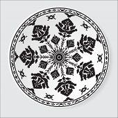 Ethnic Ornament Pattern. Vector Illustration