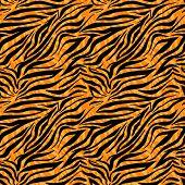 pic of tigers  - Fashion tiger seamless pattern - JPG