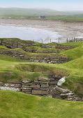 Scottish Prehistoric Site In Orkney. Skara Brae. Scotland