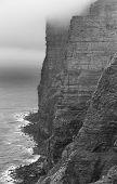 Scottish Landscape In Orkney. Hoy Cliffs. Scotland