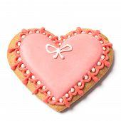 Saint Valentines Pastry - Stock Photo