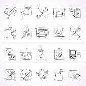 petrol station icons